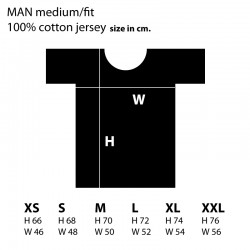 T-shirt man Logo