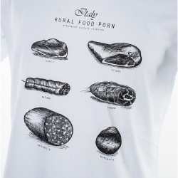 Woman T-Shirt Food Porn